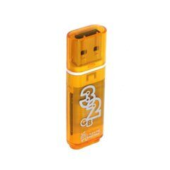 USB  32GB  Smart Buy  Glossy  оранжевый