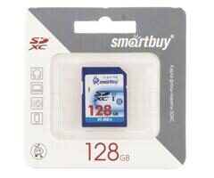 Карта памяти SDXC  128GB  Smart Buy Class 10 Ultimate (45/20 Mb/s)