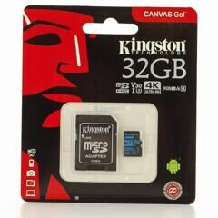 SDXC  512GB  Kingston Class 10 UHS-I U3 V30 Canvas Go (90Mb/s)