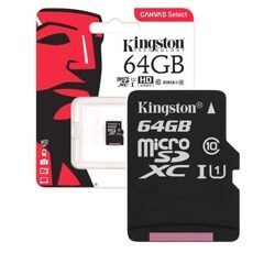 MicroSD  64GB  Kingston Class 10 Canvas Select UHS-I U1 (80 Mb/s) без адаптера