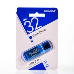 USB  32GB  Smart Buy  Glossy  синий