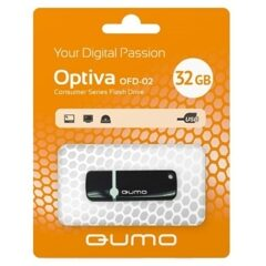 USB  32GB  Qumo  Optiva 02  чёрный