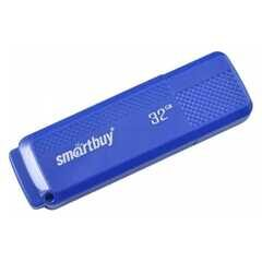 USB  32GB  Smart Buy  Dock  синий